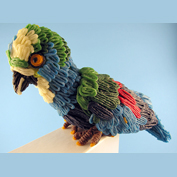 For a fun, colorful craft activity, try a parakeet craft.