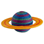 This colorful planet is makes learning fun, use Wikki Stix as an educational craft toy!