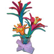 Create a Flower Bouquet with Wikki Stix Educational Toys
