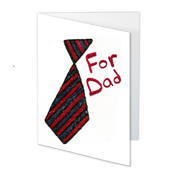 Kids Craft Activities - Fathers Day Card for kids