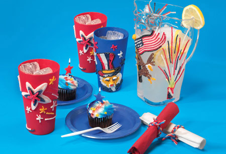 fourth of july crafts. Festive Fourth of July Crafts
