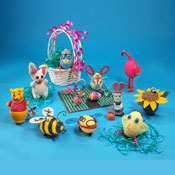 Fun Easter Collage for kids.