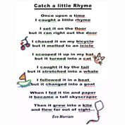 Learn Rhyming Words is fun with Wikki Stix.