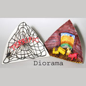 Make a DioRama with Wikki Stix