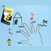 Use Wikki Stix as and educational toy to teach Language Arts