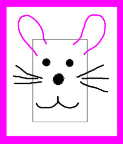 Craft activities for kids - create a Bunny Lunch Bag Buddy