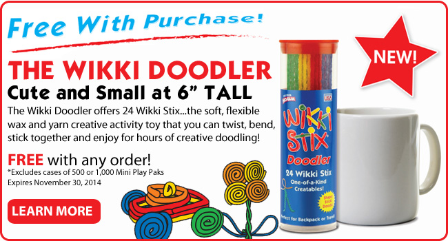 Wikki Doodler Free with any order!