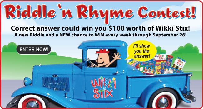 Enter the Riddle 'n Rhyme Contest!