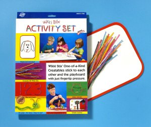 The Wikki Stix Activity Set is a Parents Choice Classic Award Winner