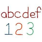 Homeschoolers use Wikki Stix for Spelling Manipulatives