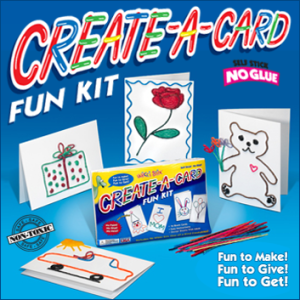 Create-A-Card Kit is a perfect craft for kids!