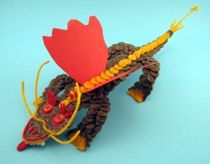 The year of the Dragon is a fun Craft for Kids