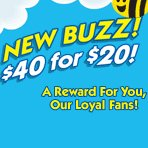 New Buzz for our Loyal Fans. 50% Off Select Products.