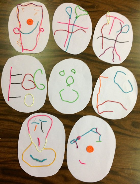Special Needs classroom Easter Arts and Crafts Project