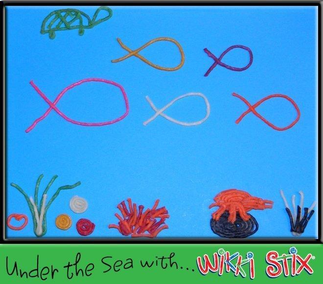 Under the sea Ocean lesson plan from Wikki Stix