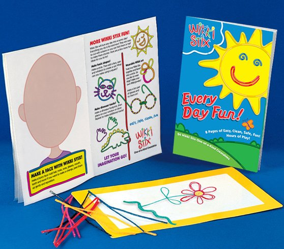 Every Day Fun with Wikki Stix, fun crafts for kids!