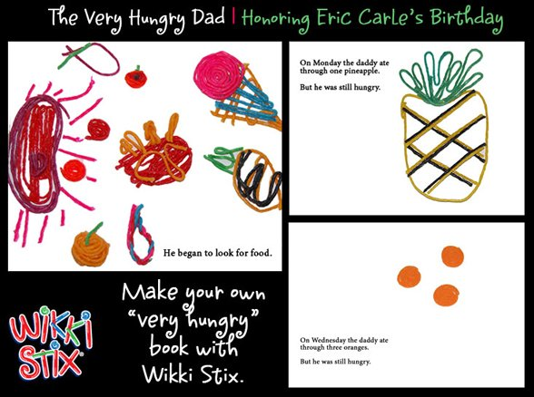 Wikki Stix fathers day craft idea for fathers day!