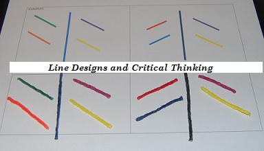 Line Design for Early Childhood Education for Critical Thinking