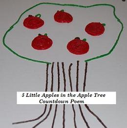 Little Apples activity for kids!
