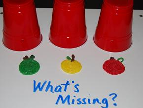 What's Missing is fun and creative learning activity for kids!