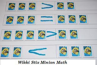 Wikki Stix Minion Math Picture #4