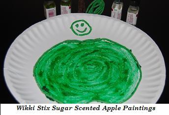 Wikki Stix Sugar Scented Picture