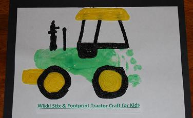 WS Footprint Tractor Craft Picture