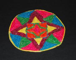 Mandala arts and crafts for kids