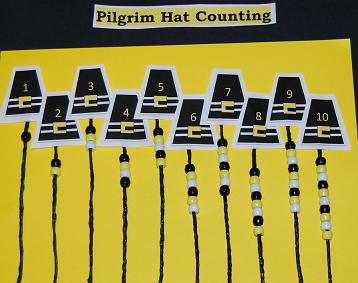 WS Pilgrim Hat Math Game