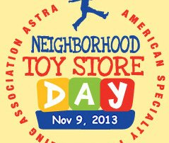 Neighborhood Toy Store Day, November 9 2013