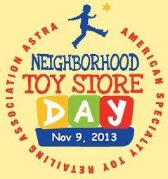 Neighborhood Toy Store Day, November 9 2013