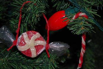 Candy Cane_Peppermint Ornaments Crafts for Kids