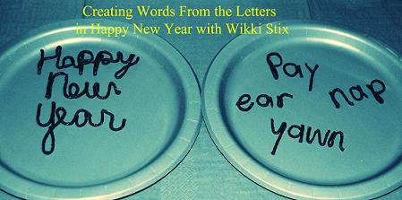 Created Words from Happy New Year
