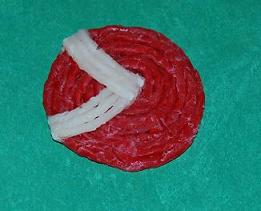 Peppermint Ornament Craft Idea for Kids