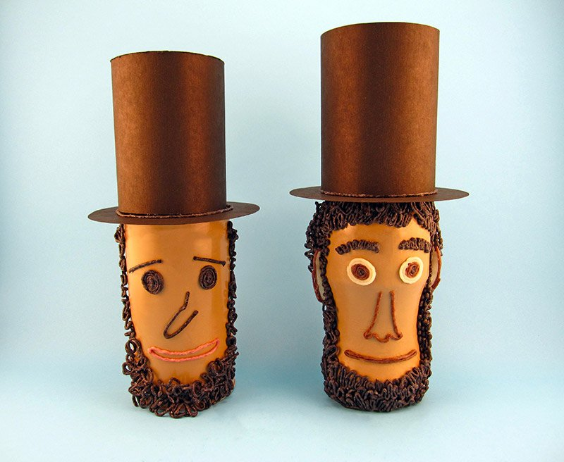 Abe Lincoln Cans, Crafts for kids