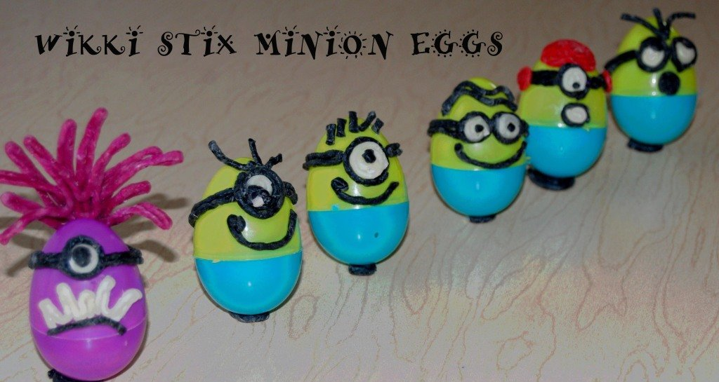 Minion Egg Crafts and Learning Games for Kids!
