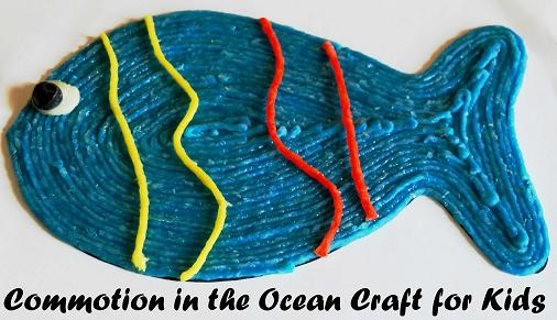 Commotion in the Ocean Craft for Kids