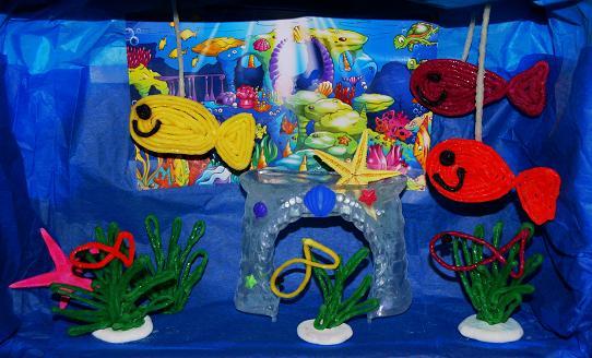 Wikki Stix Ocean themed Activities For Kids