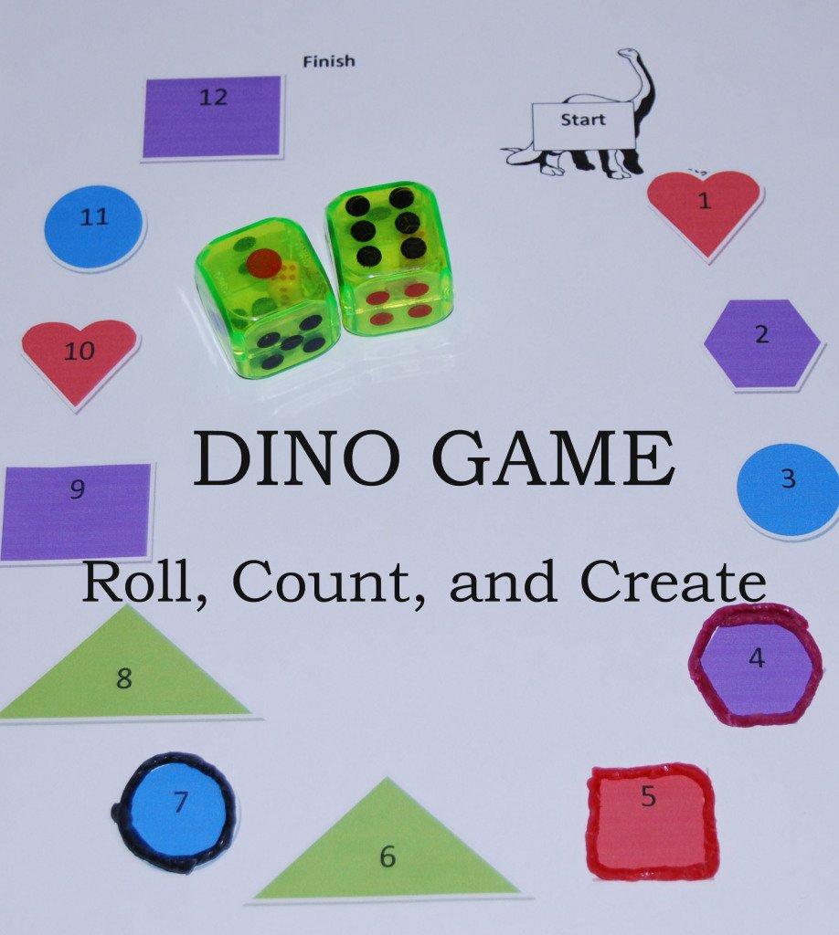 Wikki Stix Dino Game, Roll Count Create