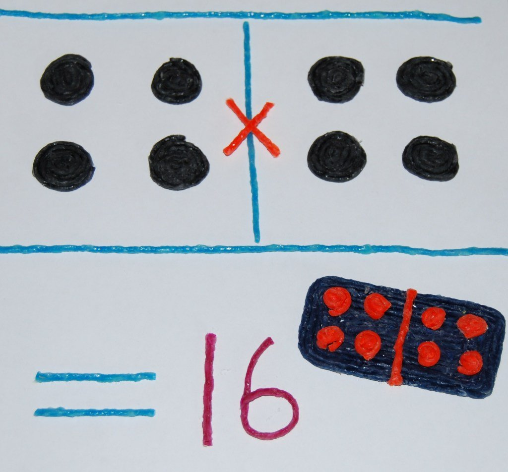 Domino Multiplication for Early Childhood Math