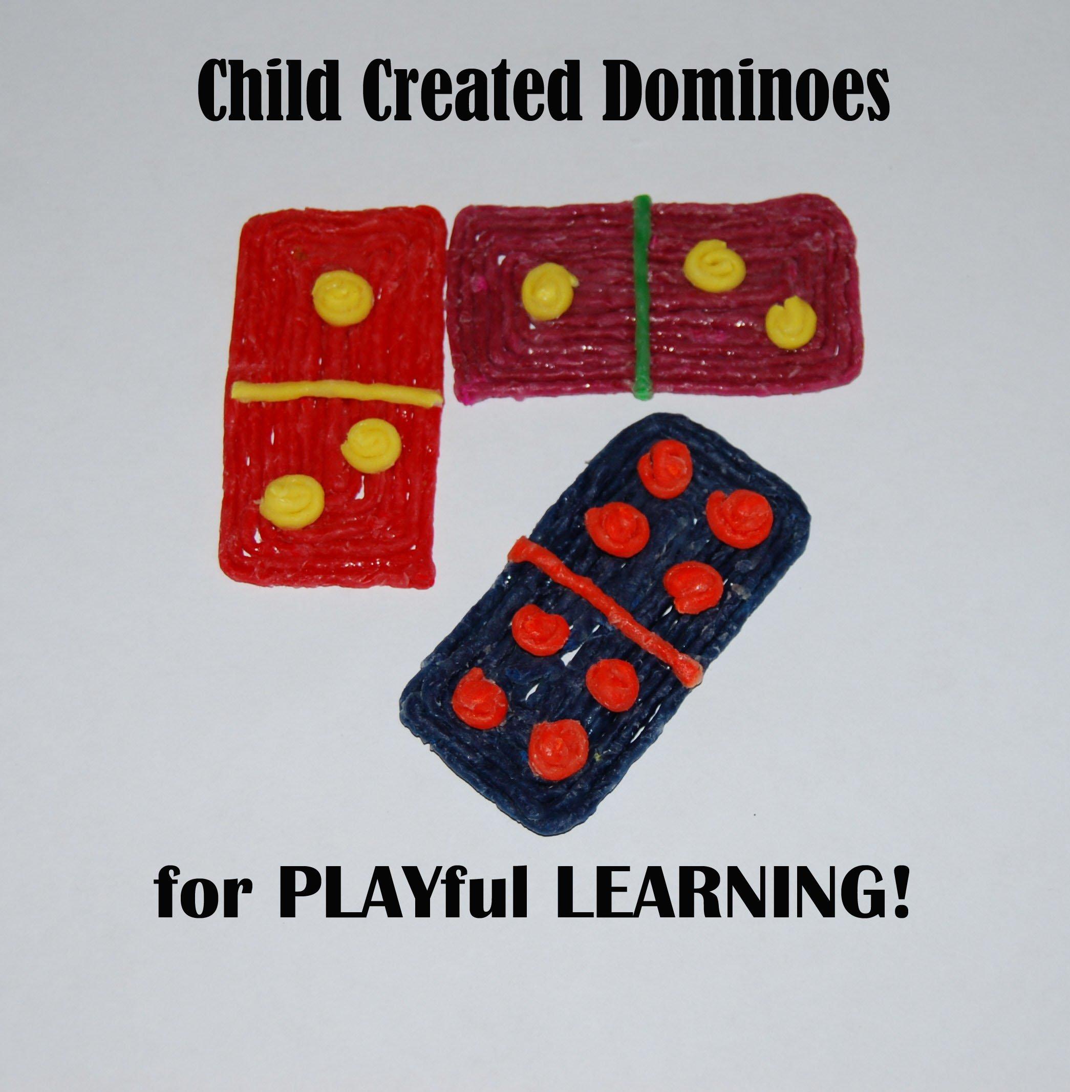 Wikki Stix Created Dominoes: Early Math for Kids!   Wikki Stix