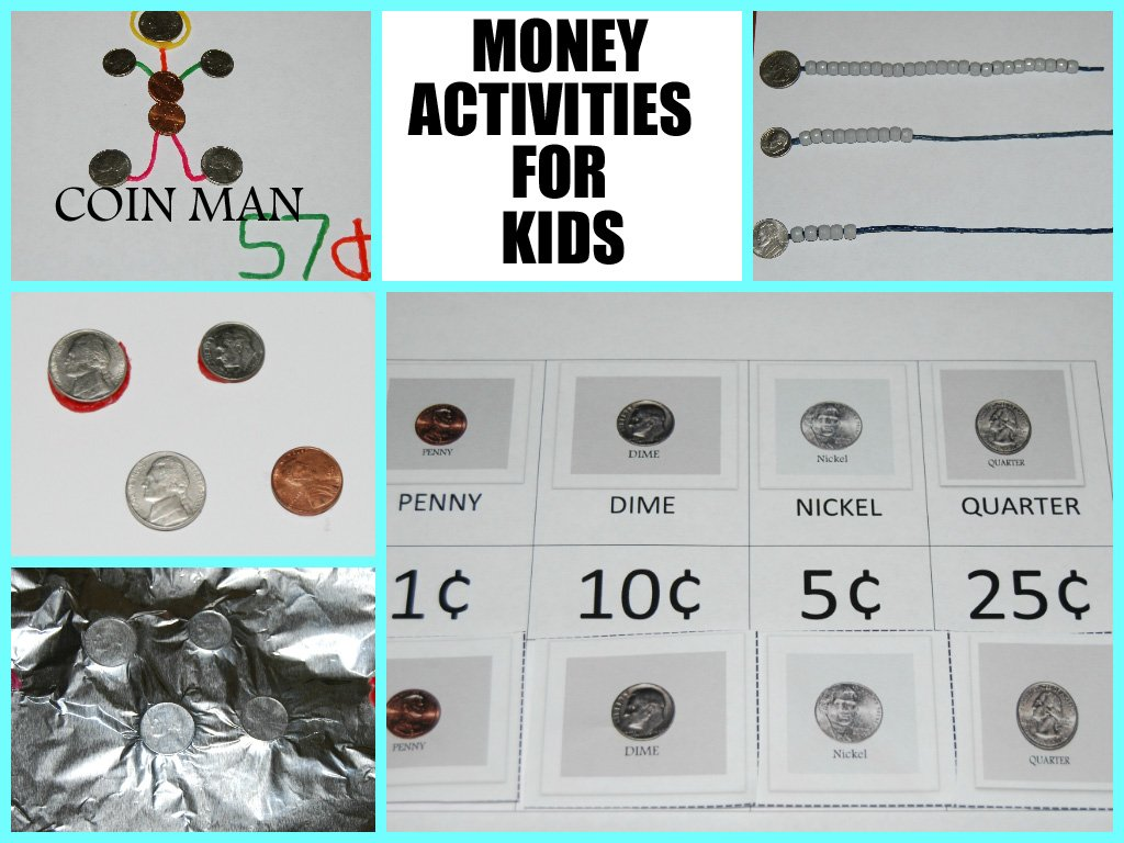 Wikki Stix Money Activities for Kids!