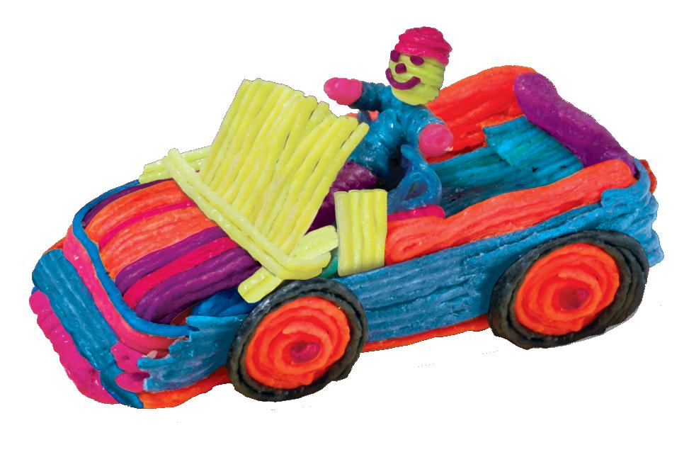 Wikki Stix Car and Driver