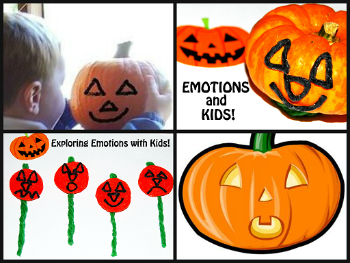 Wikki Stix Jack-O-Lantern Crafts for Teaching Emotions to Kids!
