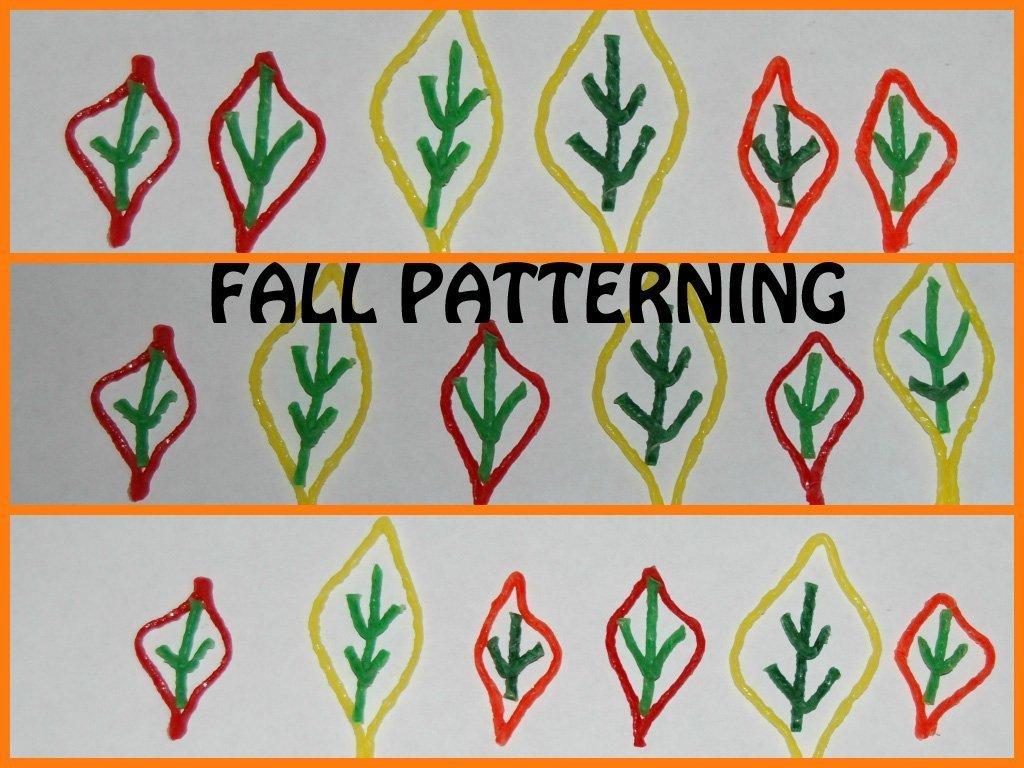 Fall Patterning Activity