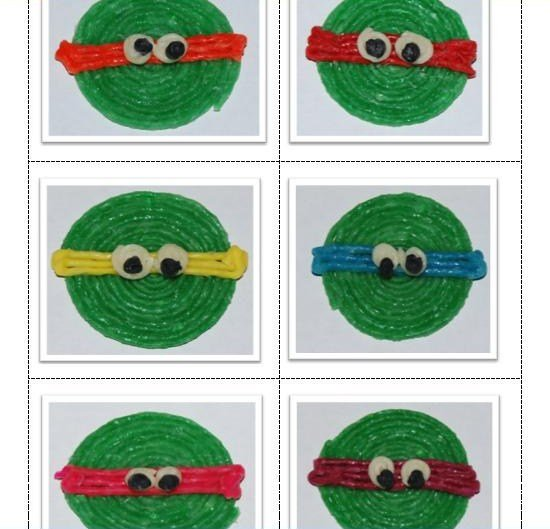 Ninja Turtle Colors, Craft for Kids!
