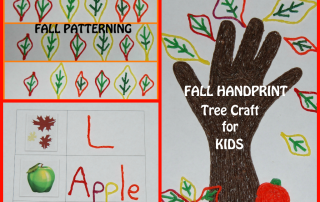 Wikki Stix Fall Handprint Craft and Playful Learning Activities for Kids!