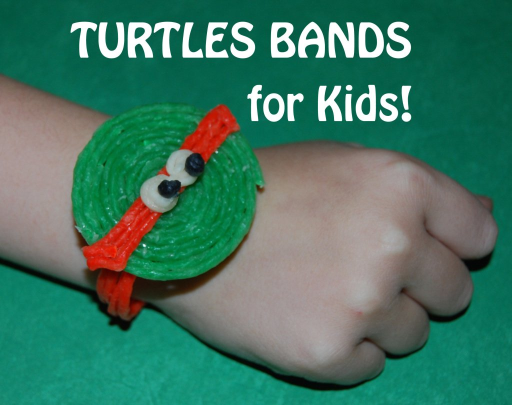 Ninja Turtles Wrist Bands for Kids!