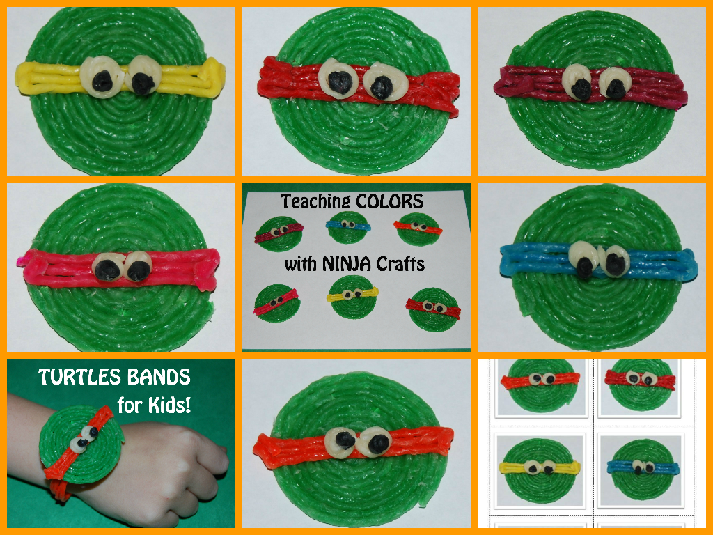 Wikki Stix Ninja Turtles Crafts for Kids! | Wikki Stix