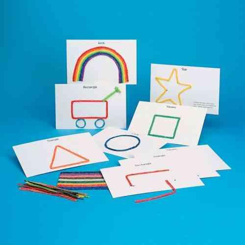 Basic Shapes Cards